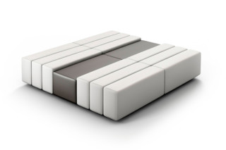 CL classic bench with tray table  by  modul 21