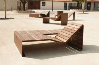 Absolut sun lounger duo  by  CYRIA