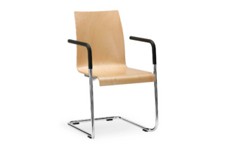 CURVEis1 cantilever chair  by  Interstuhl