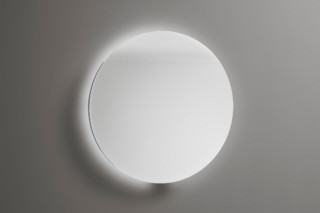 Coco mirror with circulating LED-light and selection:cold/warm white  by  burgbad