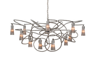 Sultans Of Swing Chandelier oval  by  Brand van Egmond