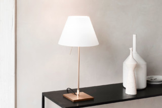 Costanzina Brass table lamp  by  Luceplan