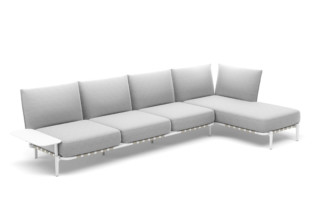 BREA 4-seater daybed left  by  DEDON