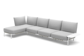 BREA 4-seater daybed right  by  DEDON
