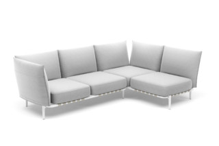 BREA L-sofa left  by  DEDON