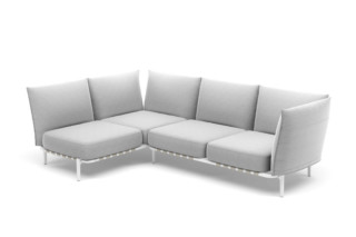 BREA L-sofa right  by  DEDON