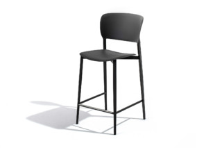 Ply bar stool  by  Desalto