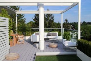 Premium WPC Terrassendielen PURE Wide Boston  von  MYDECK