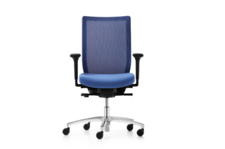 Stilo swivel chair  by  Dauphin