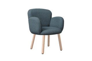 DENTO with wooden legs  by  Cappellini
