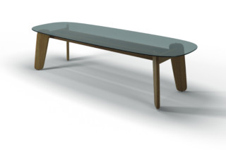 Dune dining table  by  Gloster Furniture