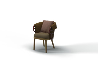 Dune dining chair  by  Gloster Furniture