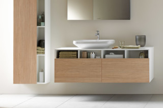 DuraStyle vanity unit wall-mounted 2 drawers  by  Duravit