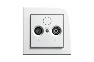 E2 Aerial socket  by  Gira