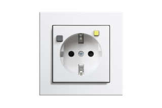 E2 socket outlet with residual current protection  by  Gira