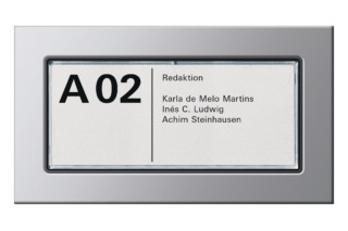 E22 door label  by  Gira