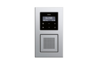 E22 RDS flush-mounted radio  by  Gira