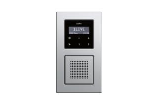 E22 Unterputz-Radio RDS  von  Gira