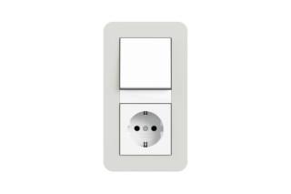 E3 push switch / socket  by  Gira