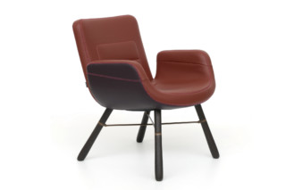 East River Chair Leather  by  Vitra