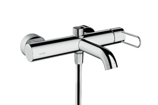 Axor Uno single lever bath mixer for exposed installation, loop handle  by  Axor
