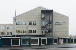concrete skin, Johan Skytteskolan Grundschule  von  Rieder