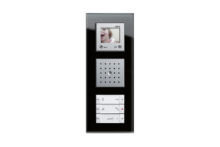 Esprit home station with TFT colour display  by  Gira