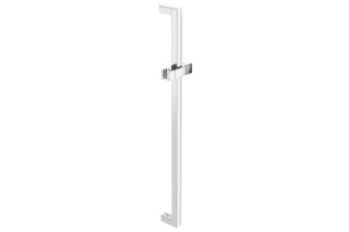 Rail with shower head holder chrome, c to c 1100 mm  by  HEWI