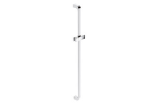 Rail with shower head holder chrome, c to c 900 mm  by  HEWI