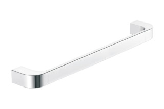 Bath towel rail chrome, c to c 600 mm  by  HEWI