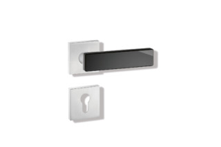 Standard door fitting Surface finish: A = satin  by  HEWI