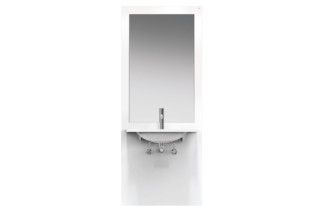 Washbasin module White, washbasin M40.11.501  by  HEWI