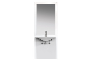 Washbasin module White, washbasin M40.11.101  by  HEWI