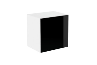 Basic module glass front black  by  HEWI