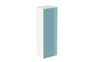 Cabinet module 120/30 glass front aqua  by  HEWI