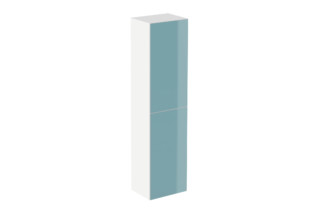 Cabinet module 160/30 glass front aqua  by  HEWI