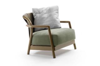 Alison Outdoor armchair  by  Flexform