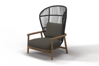 Fern high back lounge chair  by  Gloster Furniture