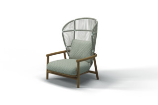 Fern High Back Lounge Sessel  von  Gloster Furniture