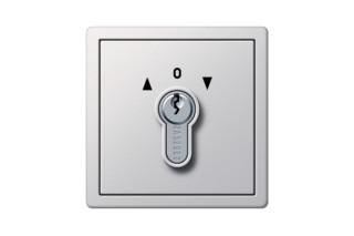 F100 key-switch  by  Gira