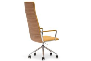 Flex Executive Lounge mit Rollen hoch  von  Andreu World