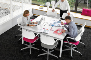 FrameFour Meeting Table  by  Steelcase