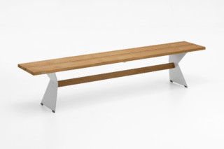 NERO bench  by  ​Niehoff Garden