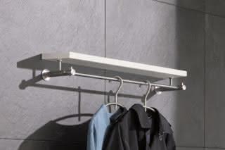 Wandgarderobe mit MDF-Ablage G4-600H  von  PHOS