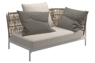 Grand Weave Right Corner Unit  by  Gloster Furniture