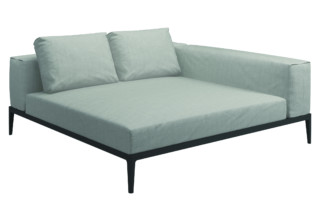 Grid lounge unit  by  Gloster Furniture
