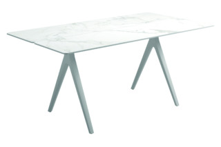 Split outdoor table  by  Gloster Furniture