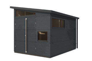 Garden shed pent roof L  by  gartana