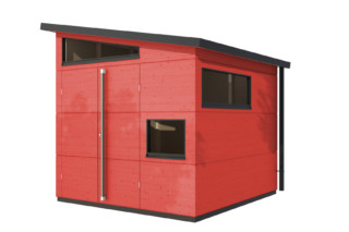 Garden shed pent roof M  by  gartana