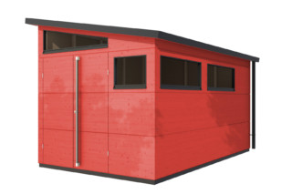 Garden shed pent roof XL  by  gartana